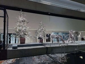 Commercial Holiday Decor in Northern CA